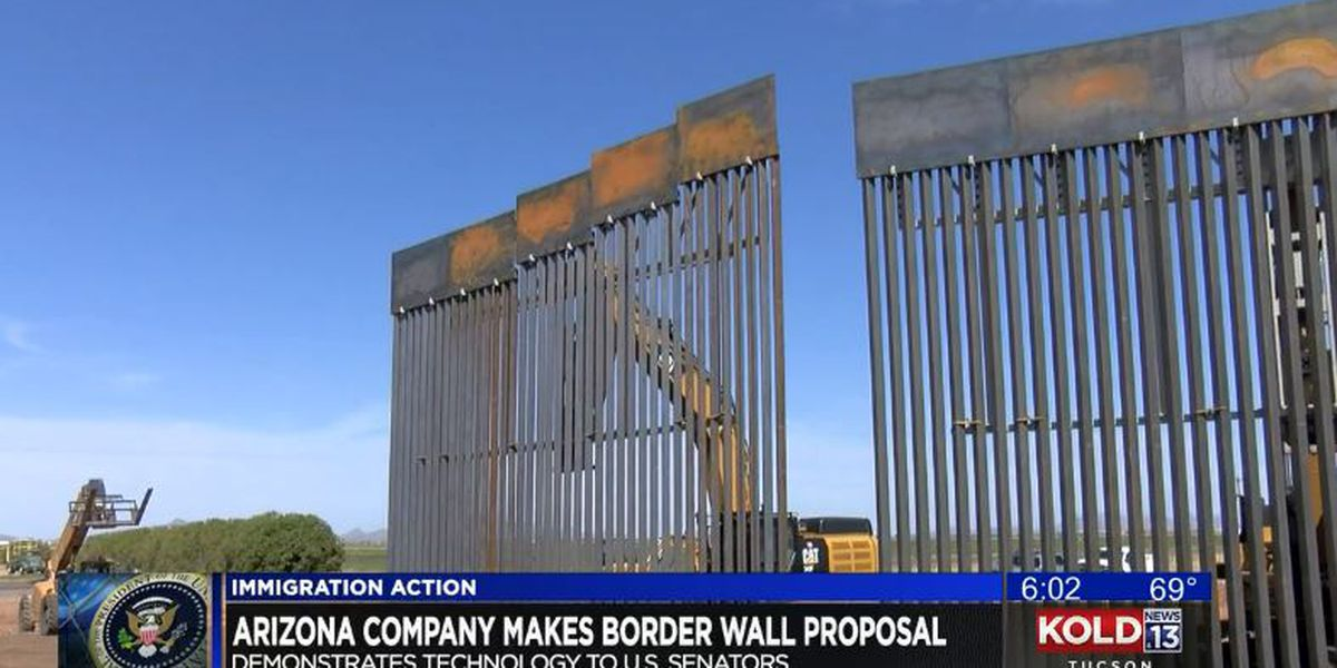 Arizona company says it can build 218 miles of border wall in a year
