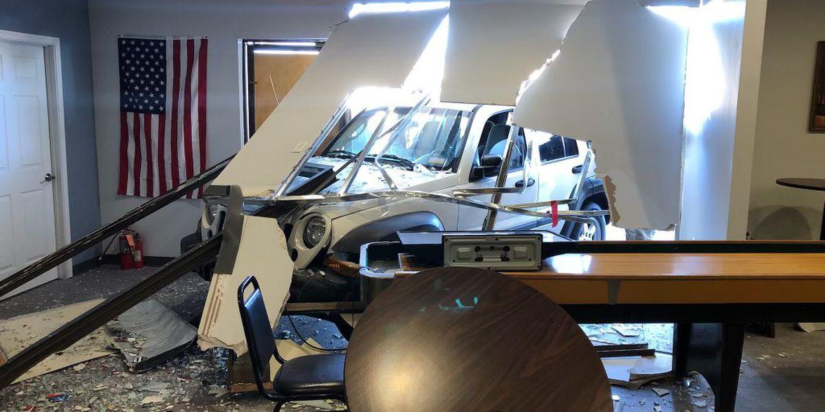 Car crashes into Tucson east-side business Thursday