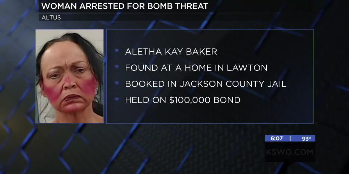 Oklahoma police arrest Lawton woman connected to bomb threat