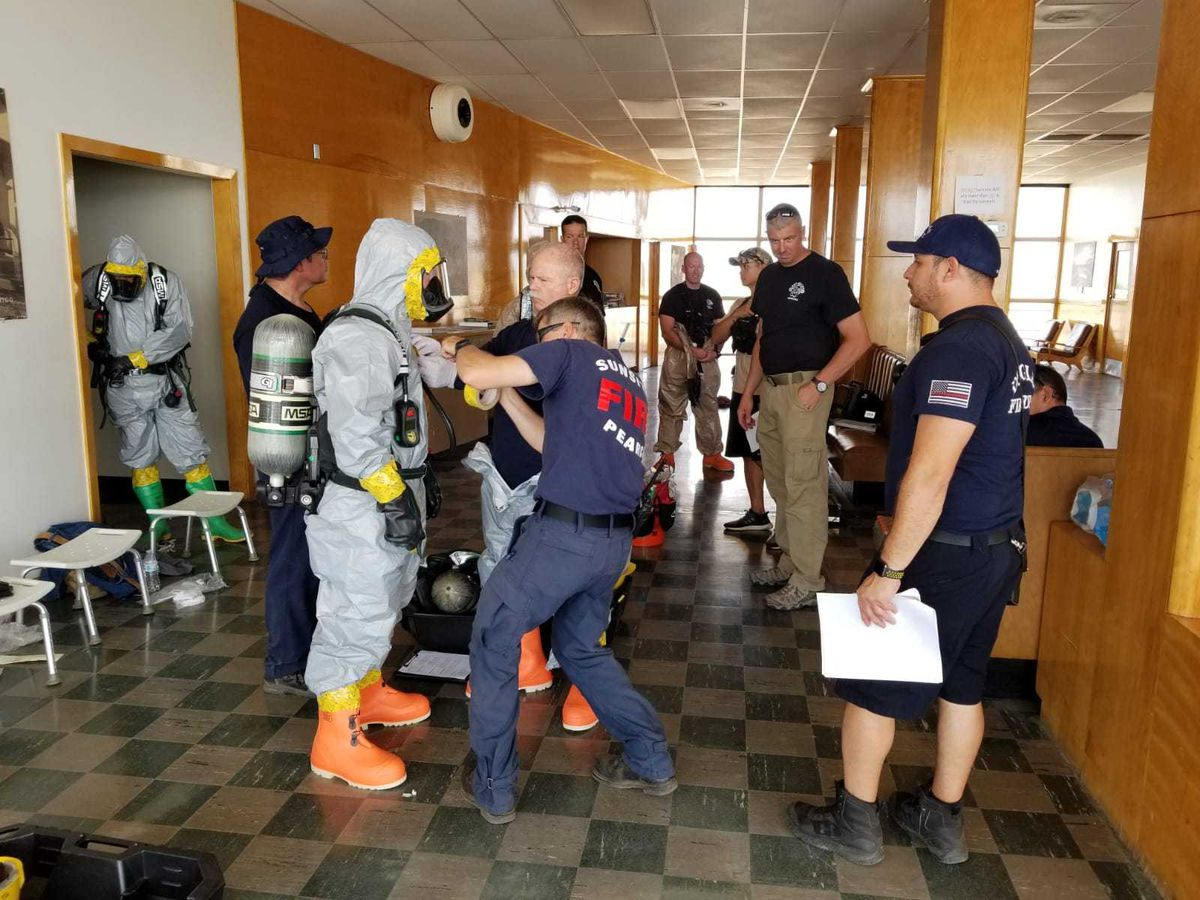 Cochise County conducts HAZMAT training in Douglas
