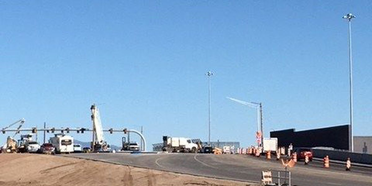 Phase one of construction on the Ajo Way bridge I-19 to be complete Monday