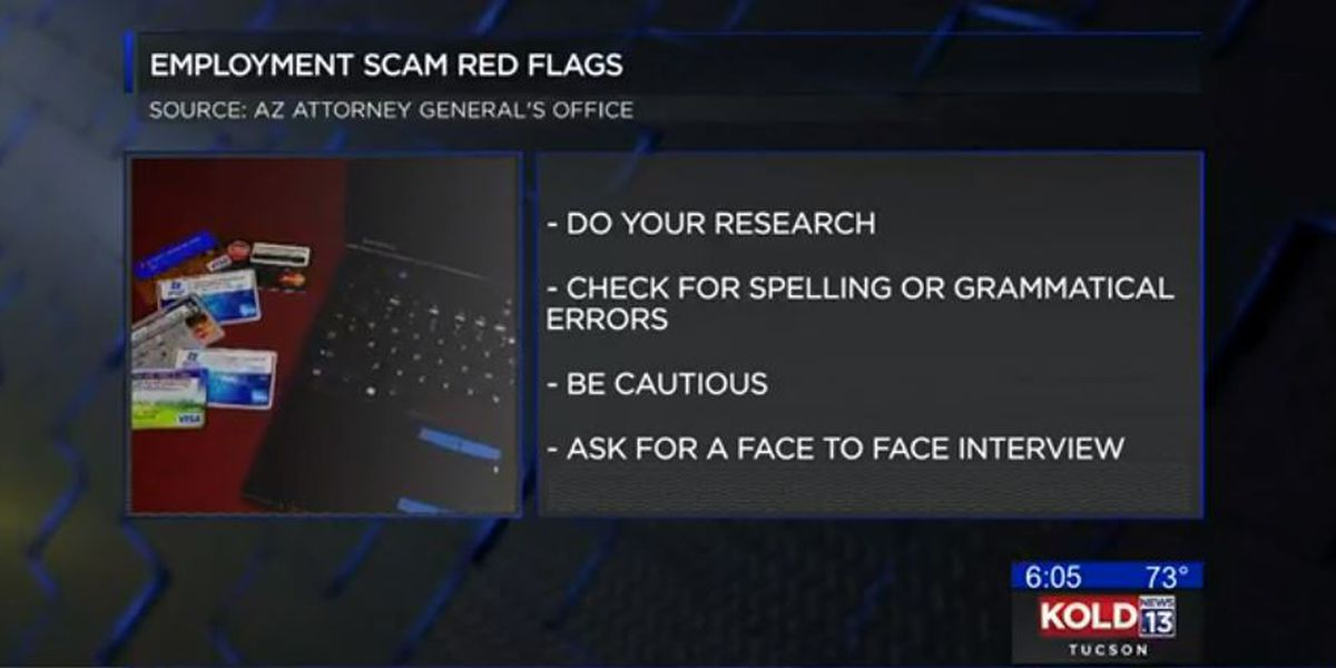 State attorney general warns of employment scams