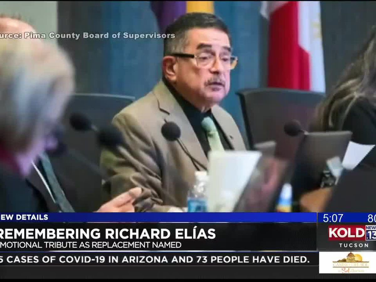 Pima County Board of Supervisors pay tribute to late chairman Richard Elias