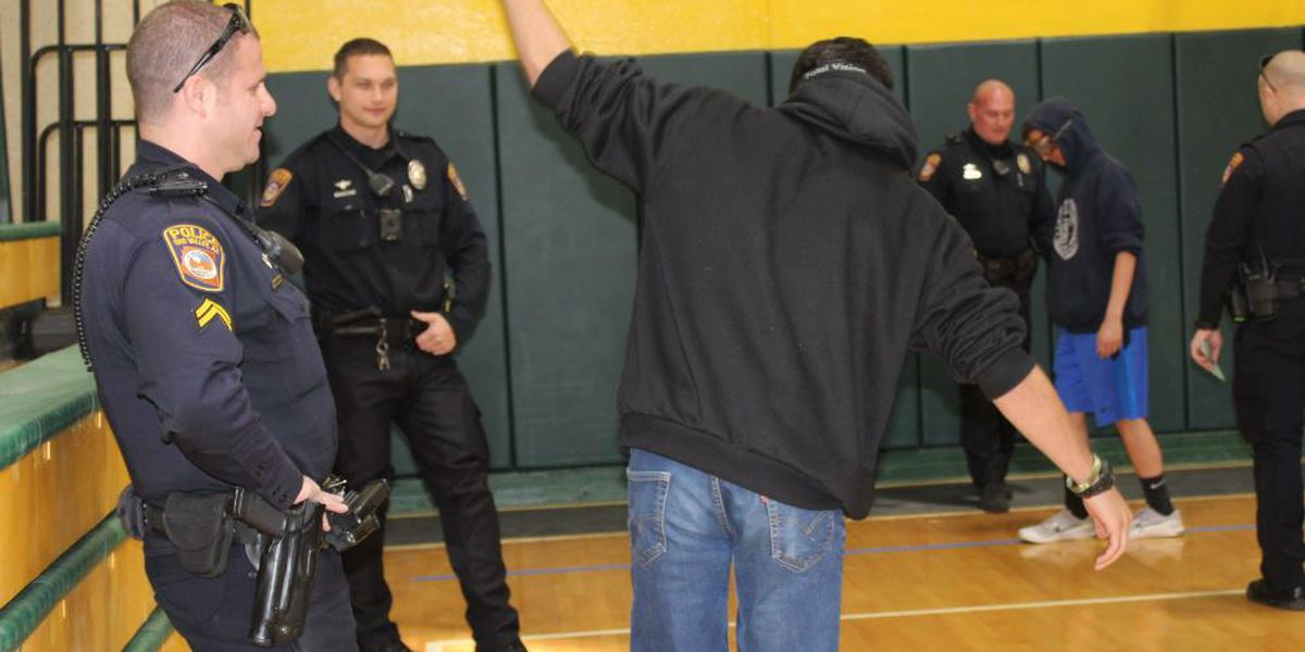 OVPD hosted Teen Maze to show consequences of choices teens may make with drugs, alcohol