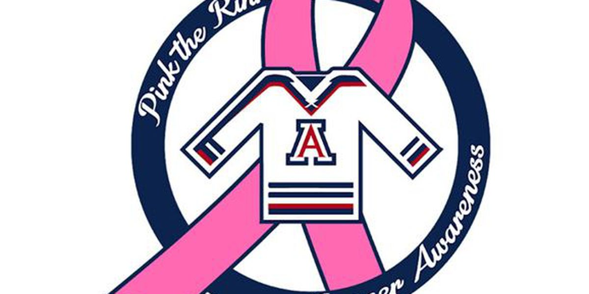 UA Hockey Team to host Fifth Annual 'Pink the Rink'