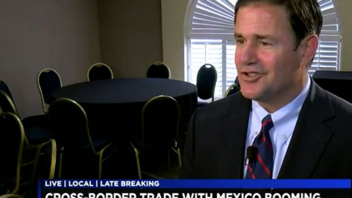 Gov. Ducey emphasizes state's relationship with Mexico, economic boom it provides
