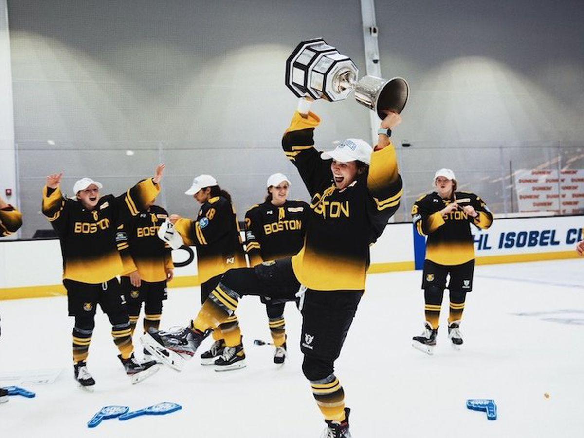 Scottsdale's Carlee Turner, Boston Pride overcome adversity to win National Women's Hockey League title