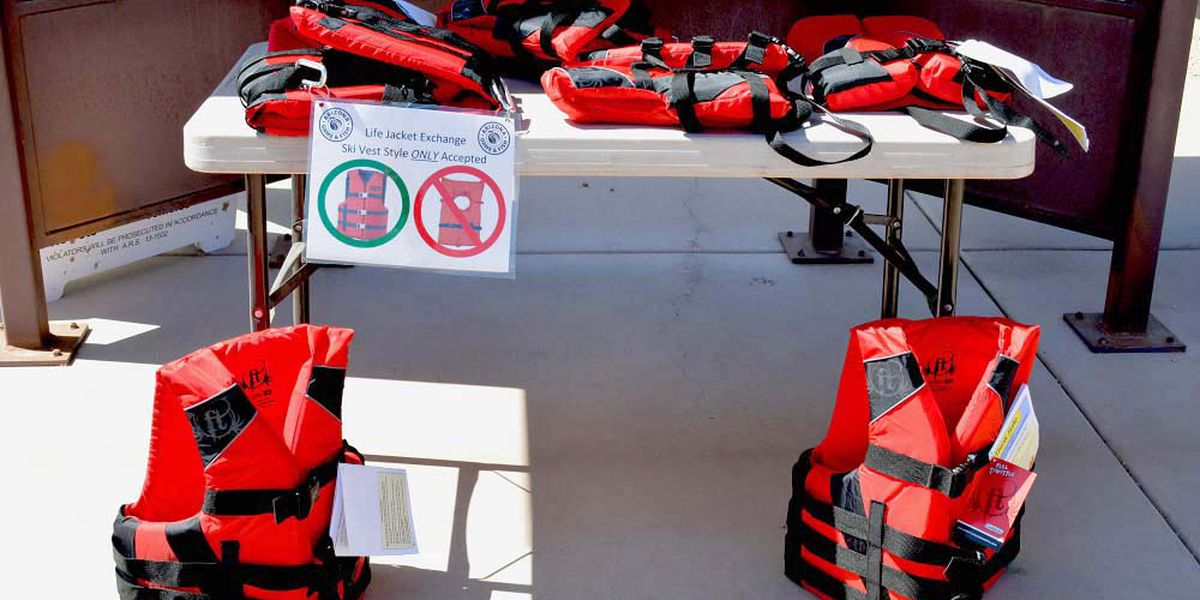 Life jacket exchange Saturday at Water Safety Expo