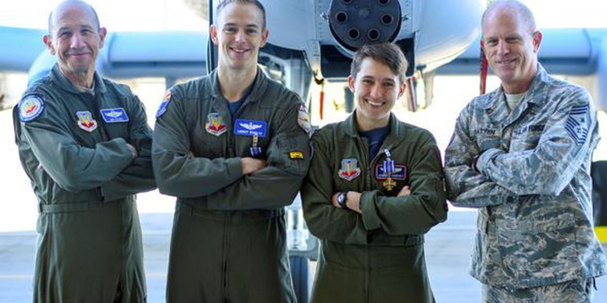 A-10 pilots from D-M receive the Distinguished Flying Cross