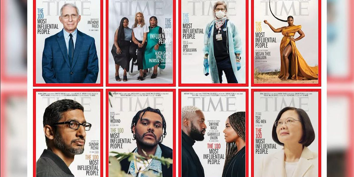 Time reveals its 100 most influential people of 2020