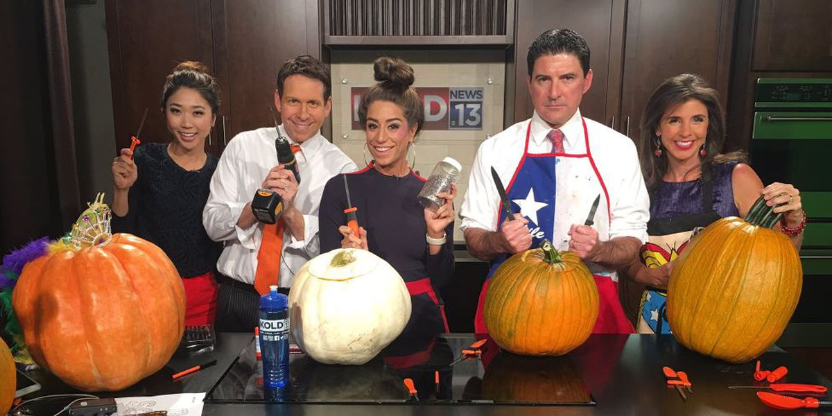 2nd annual KOLD pumpkin carving contest
