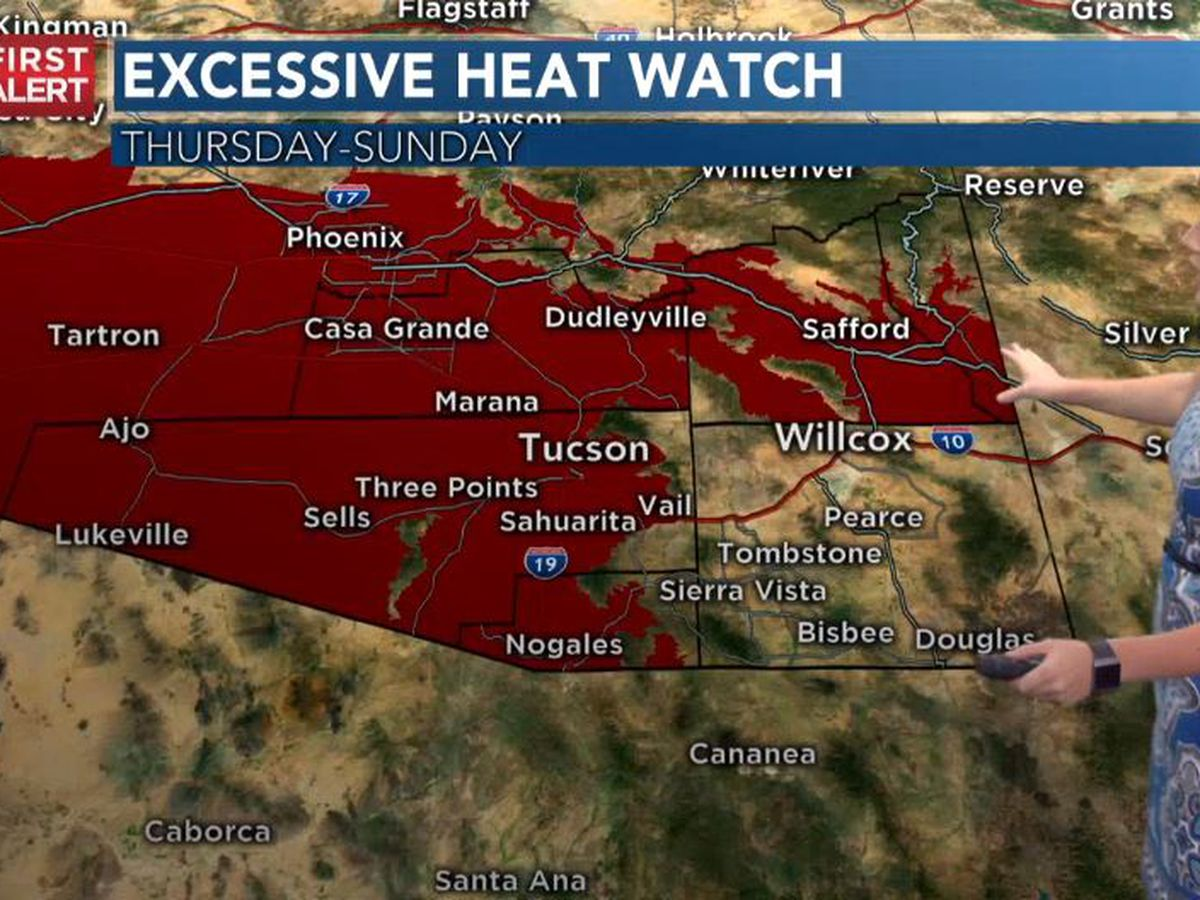 ACTION DAYS: Record-high temperatures in the forecast