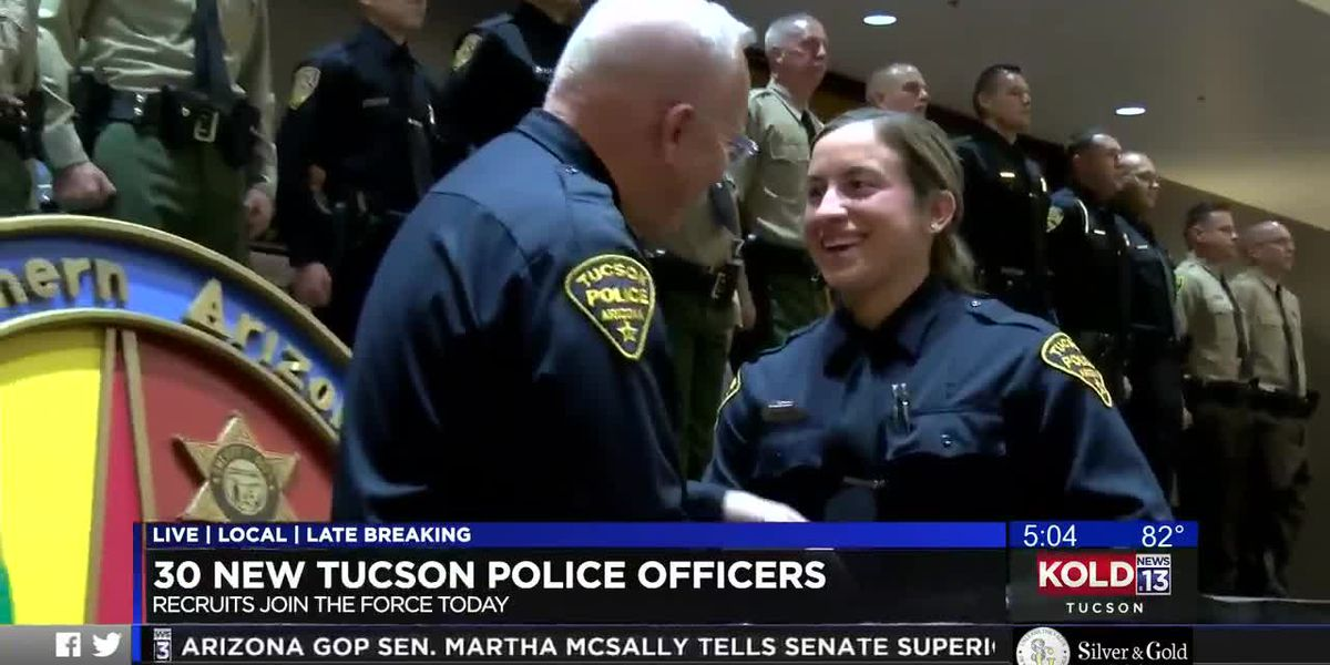 30 new graduates to join Southern Arizona law enforcement