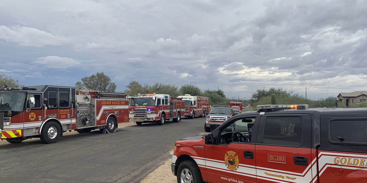 Multiple fire agencies assist in Oro Valley hiker rescue