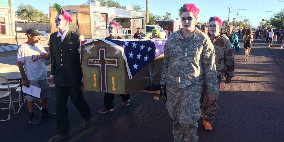 All Souls Procession brings strangers together to mourn