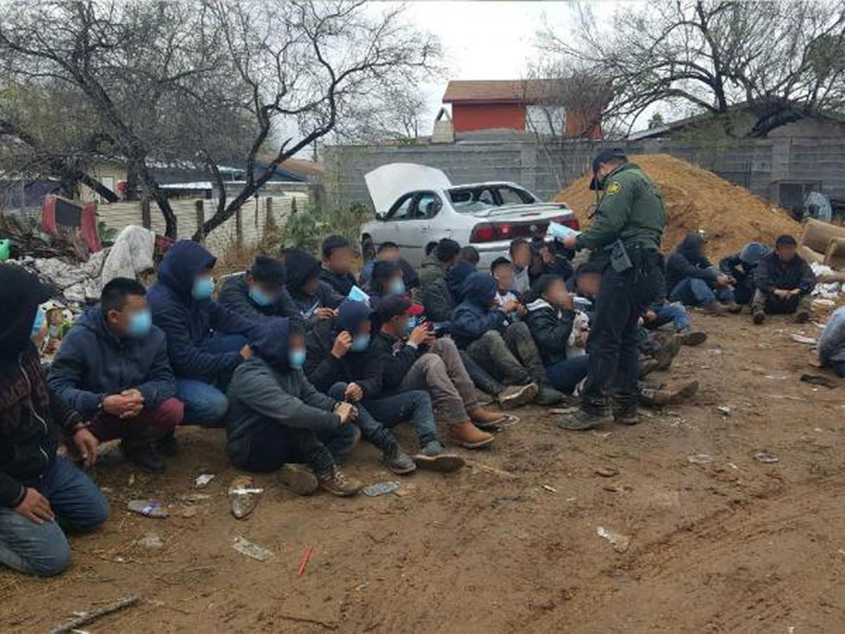 Border agents take custody of 30 individuals found inside abandoned residence