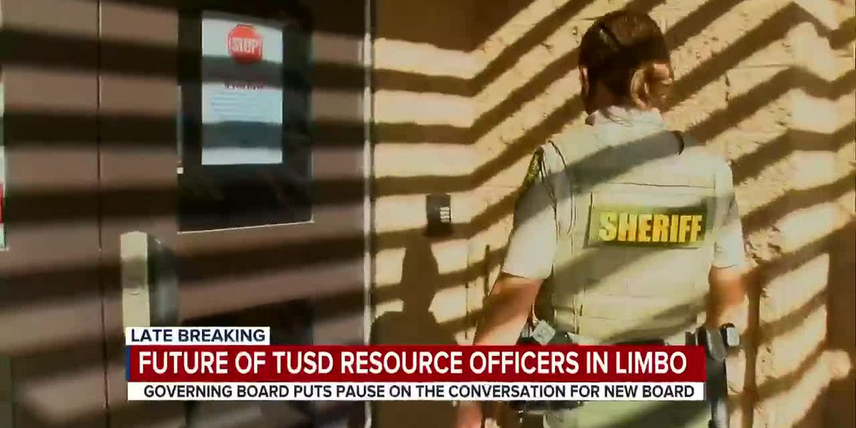 TUSD board pushes decision on school resource officers to next year, new members