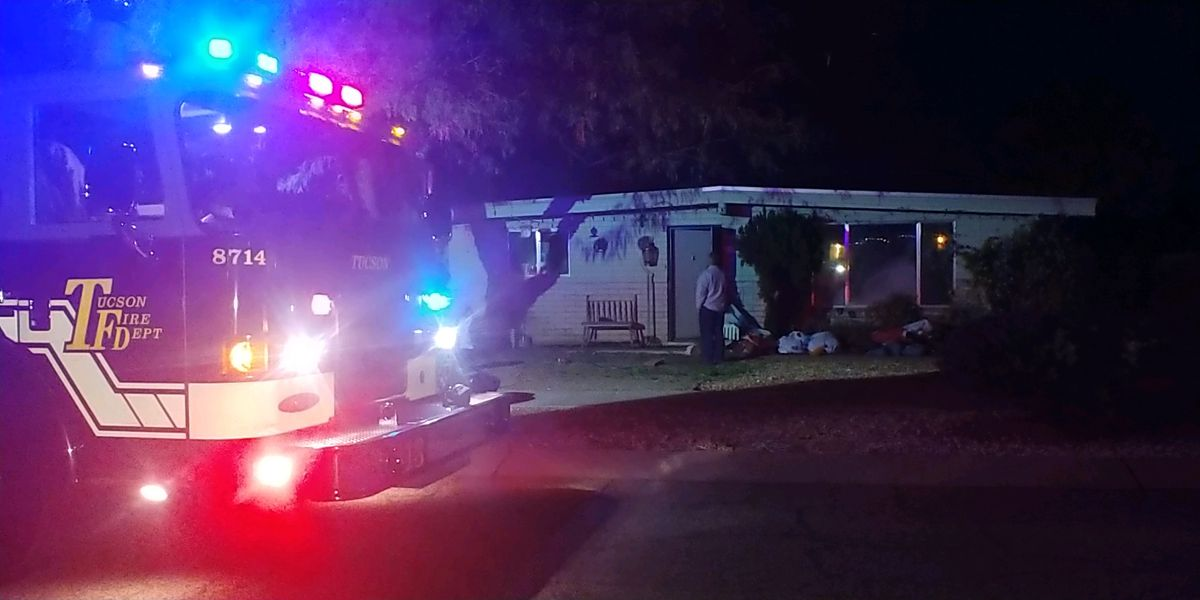 Residents displaced after kitchen fire in Tucson home