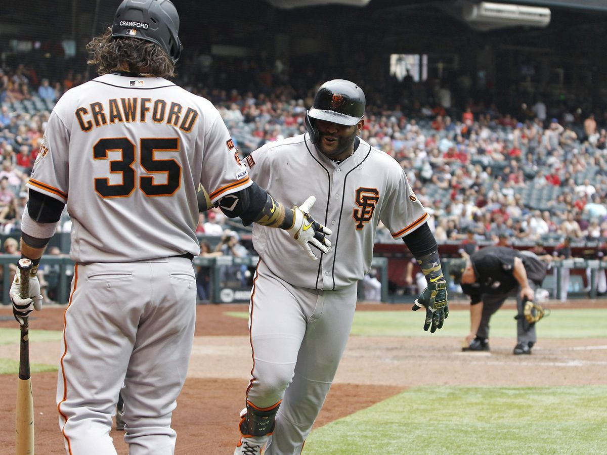 Sandoval's HR in 10th gives Giants 3-2 win over Diamondbacks