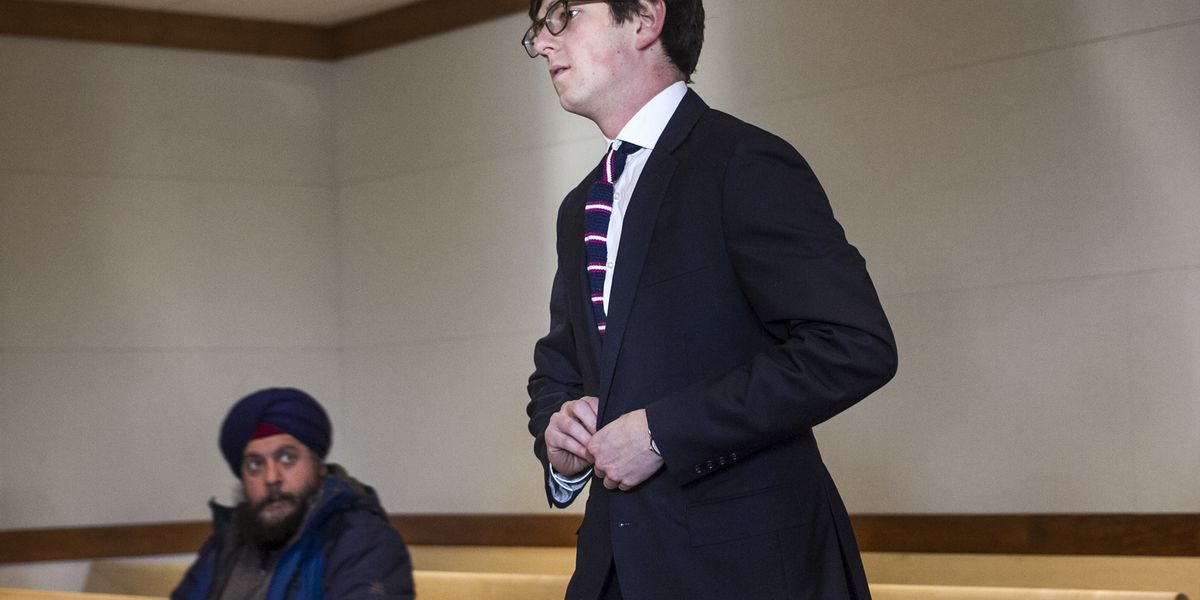 Sex offender Owen Labrie ordered to jail after Christmas