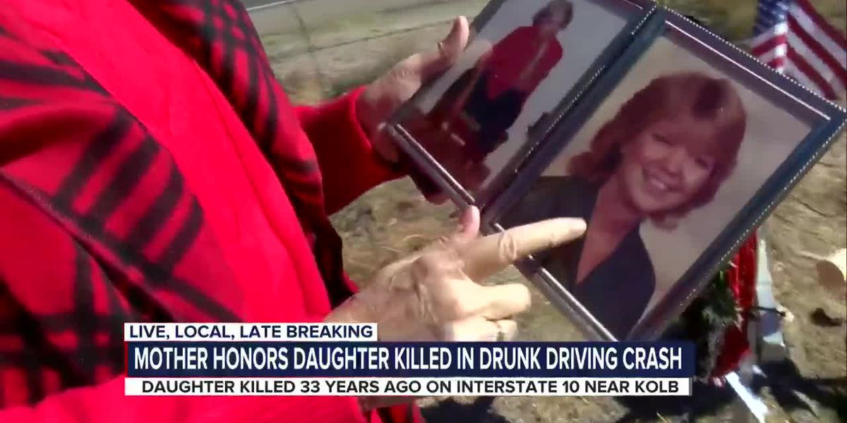 """You can't even fathom it"": grieving mother shares message about the dangers of drinking and driving"
