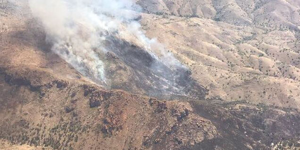 UPDATE: Wildfire west of Rio Rico has burned 340 acres