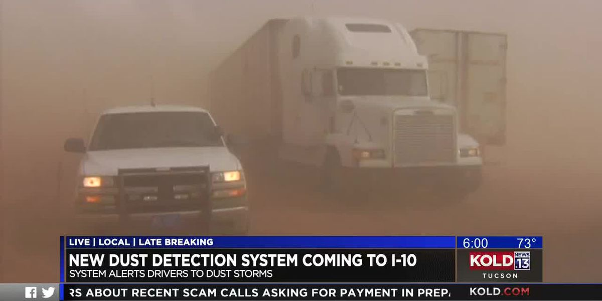 Interstate 10 dust storm early warning system nearly complete
