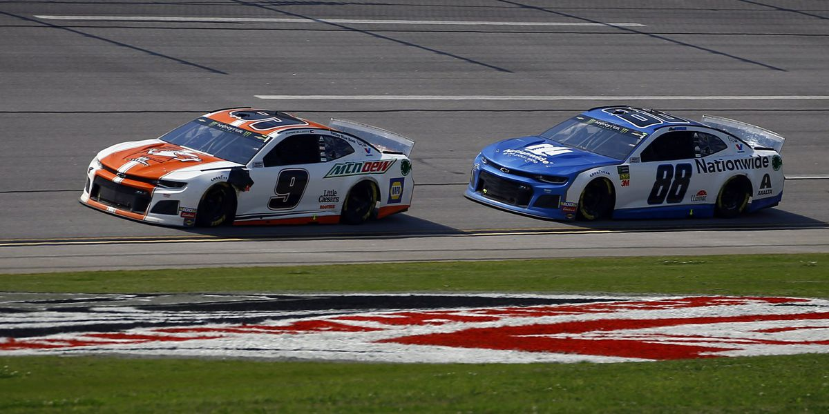 Chase Elliott wins Cup race at Talladega; Bowman takes 2nd