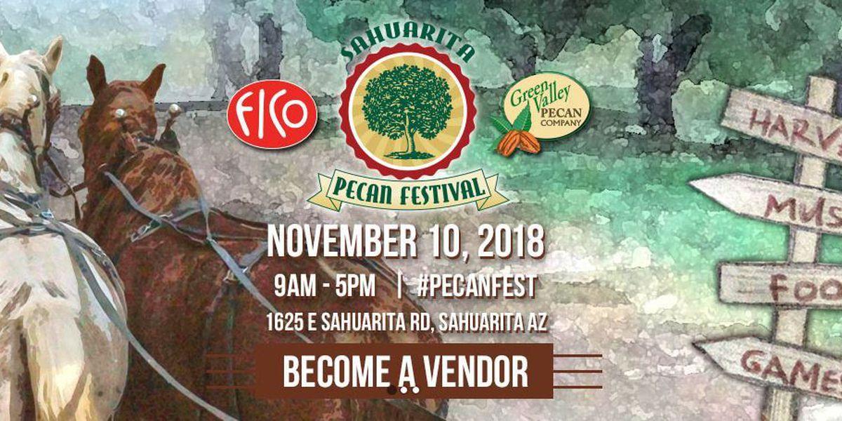 Vendor applications for the Sahuarita Pecan Festival now available to public