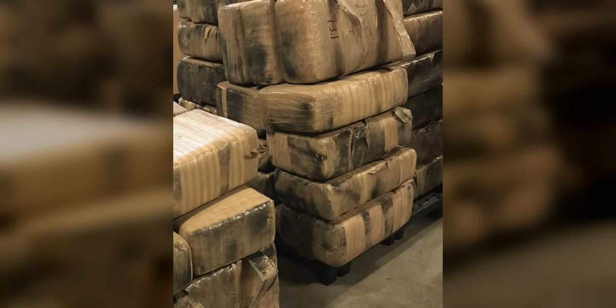 Pima County Sheriff's Department takes 1,200 pounds of drugs from motor home