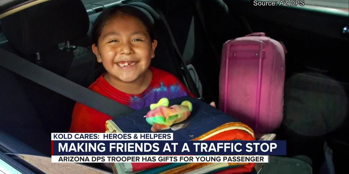 KOLD Heroes and Helpers: Making friends at a traffic stop