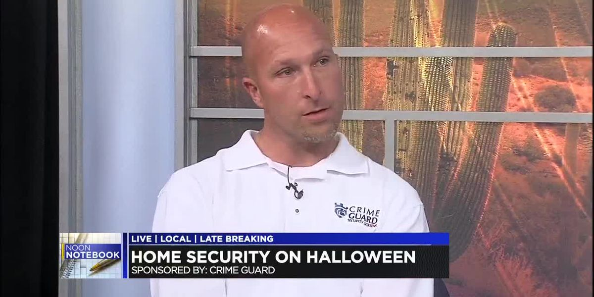 Noon Notebook: Home security on Halloween