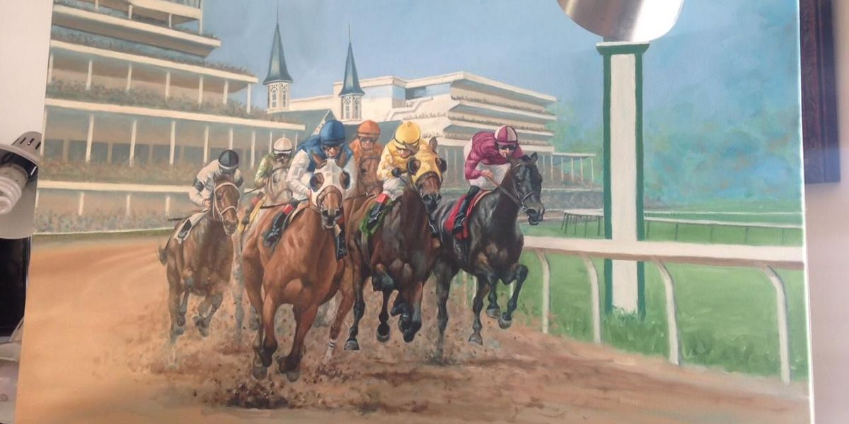 Tucson equine artist commissioned for Kentucky Derby art