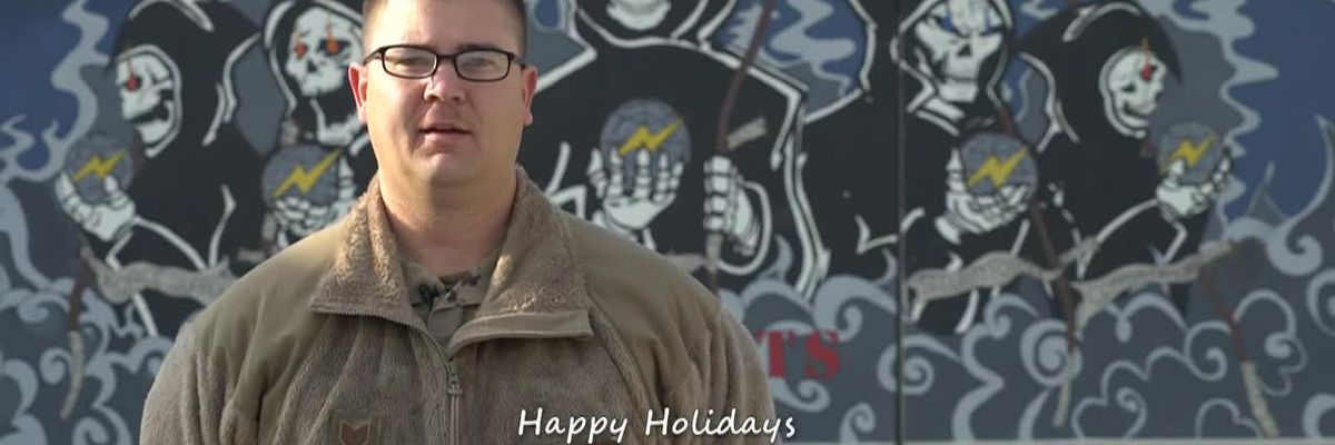 KOLD HOLIDAY MILITARY GREETINGS: Technical Sergeant Troy Haugh