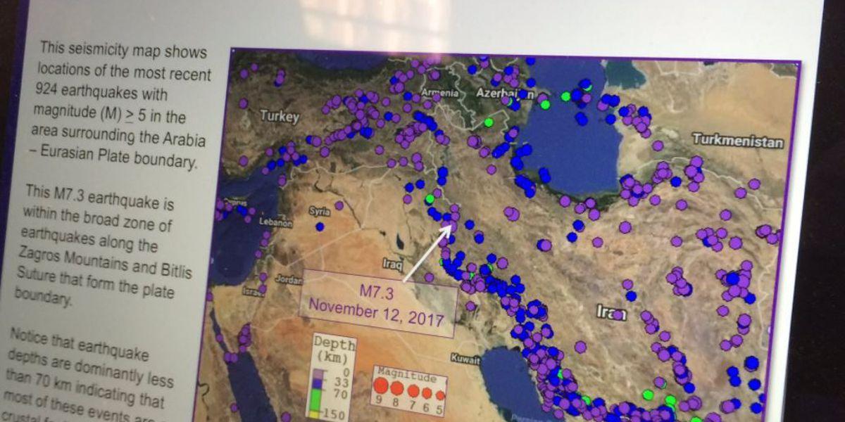 Massive Middle East earthquake has UA professor wondering 'what's next?'
