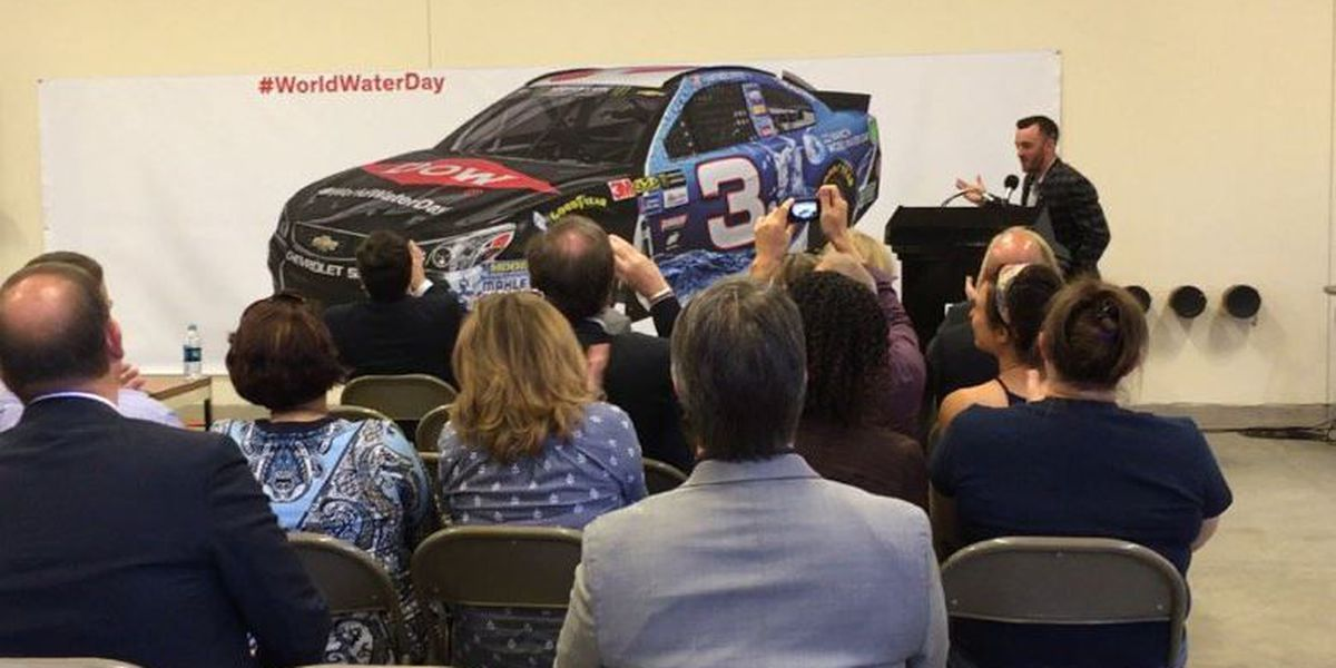 Dow unveils new NASCAR race car in Tucson to promote World Water Day