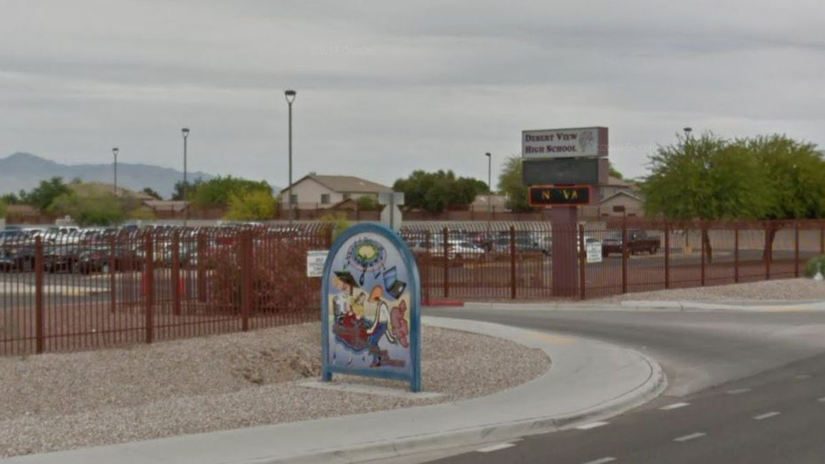 Desert View High student tests positive for COVID-19
