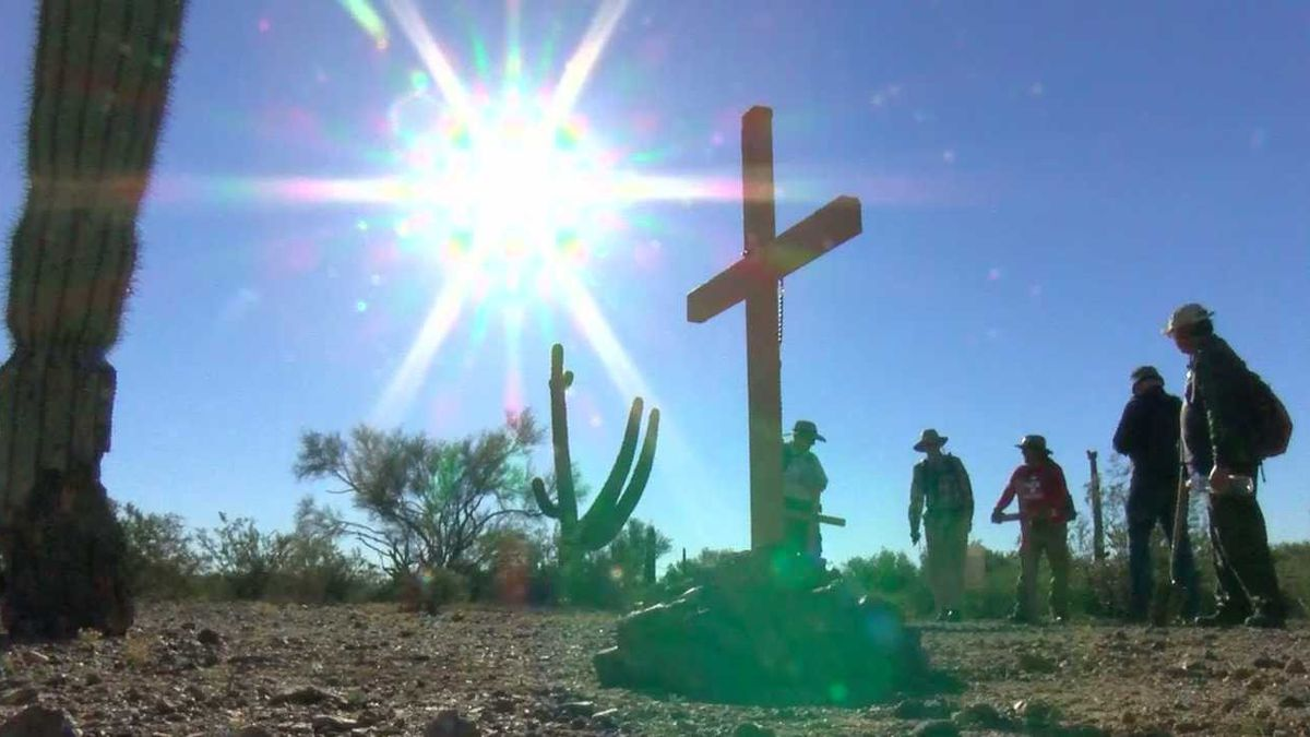 ONLY ON KOLD: Tucson artist honors migrants who died during journey to US