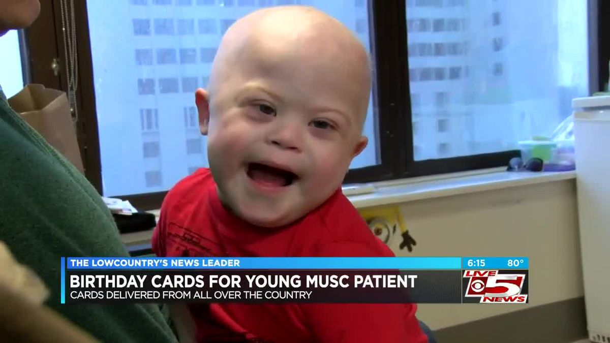 VIDEO: S C  family asking for birthday cards for boy fighting cancer