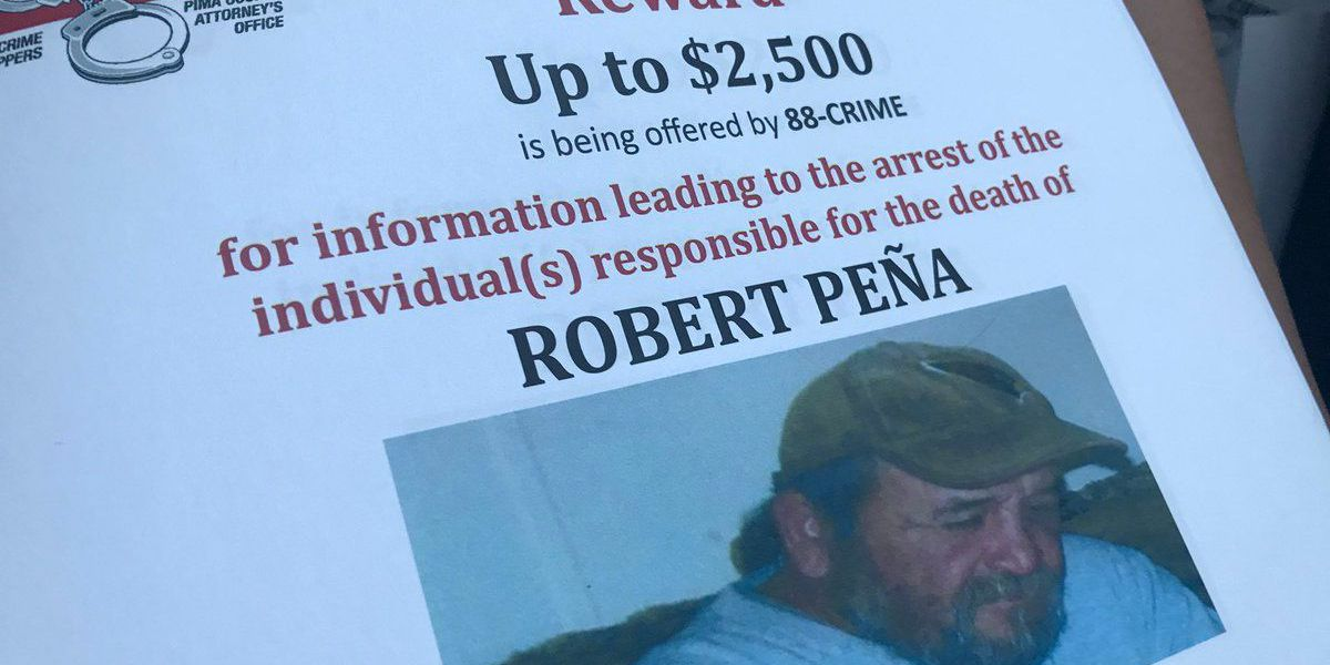 Reward for info on death of Tucson man goes up to $2,500
