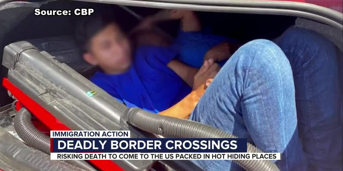 Border Patrol: Smuggling in summer heat can quickly turn deadly