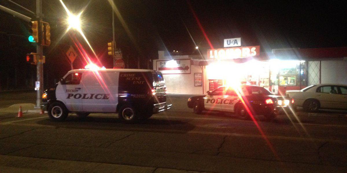 Pedestrian hurt in hit-and-run crash near UA campus