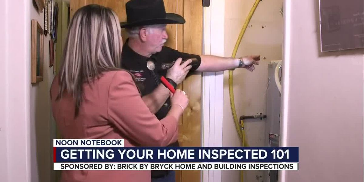 Noon Notebook: Getting your home inspected 101