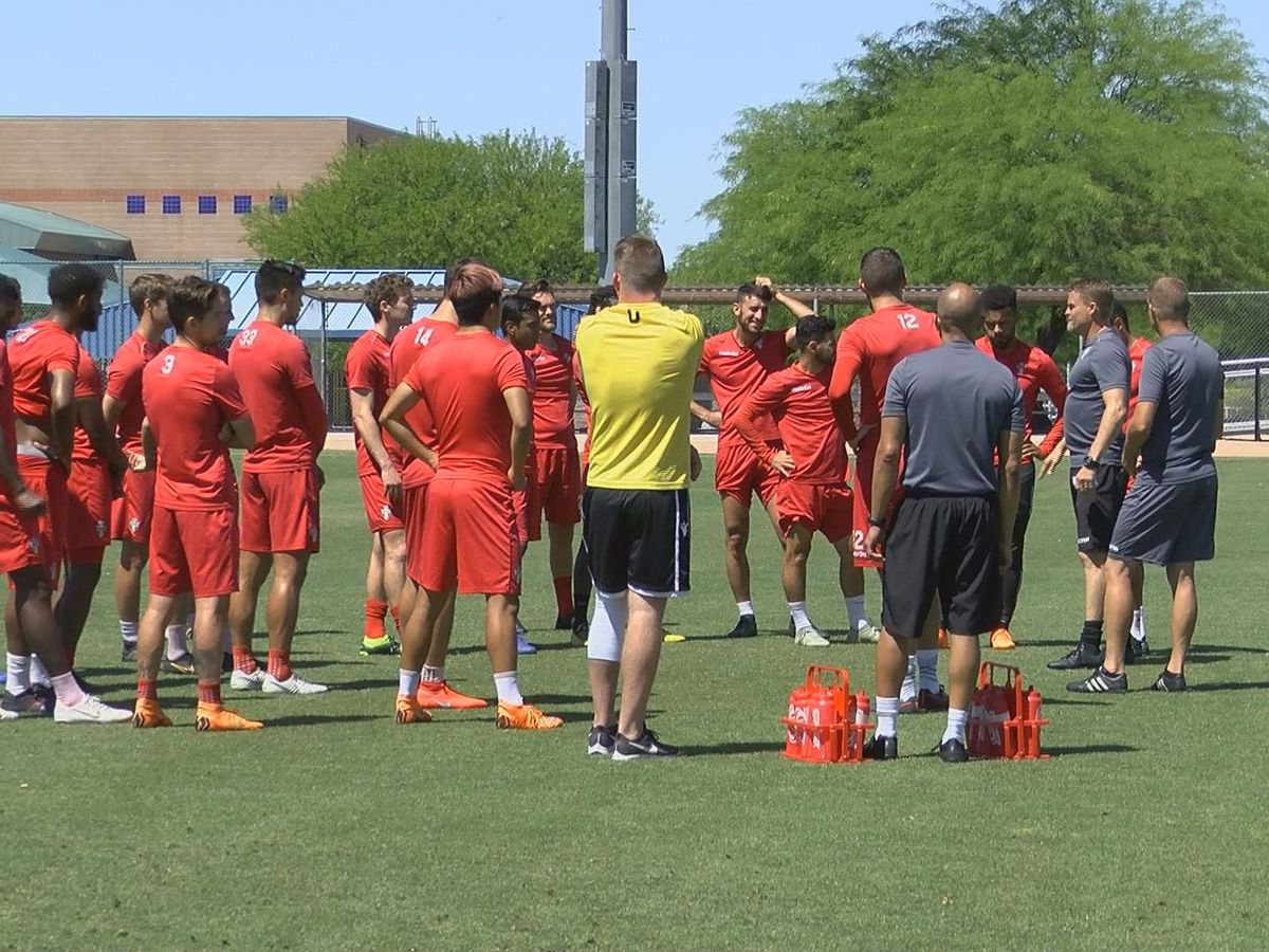 FC Tucson getting plenty of training into this early pro season