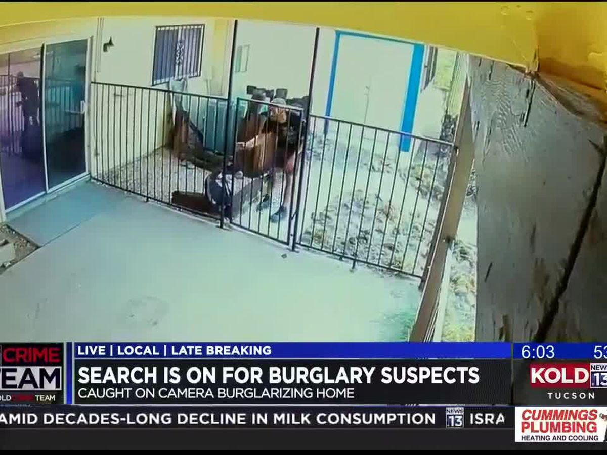 PCSD: Home burglary suspects take off on bikes