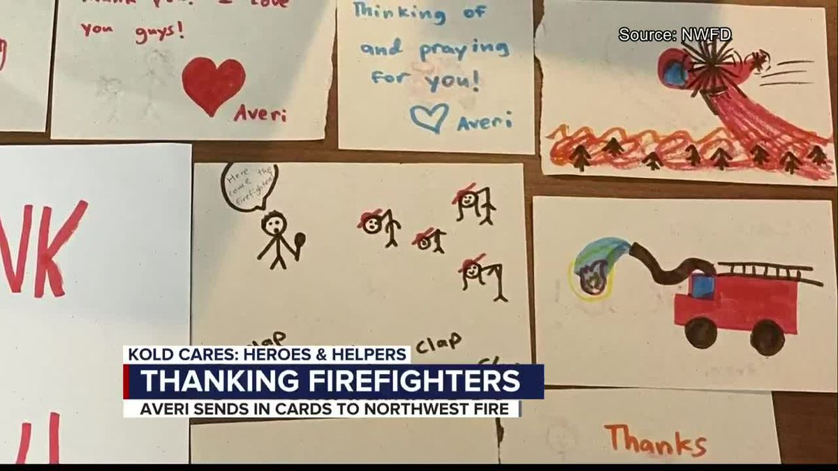 KOLD Heroes and Helpers: Thanking firefighters