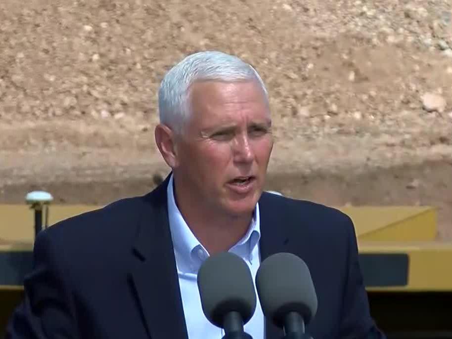 Vice President Mike Pence talks campaign, Ukraine, politics and border security