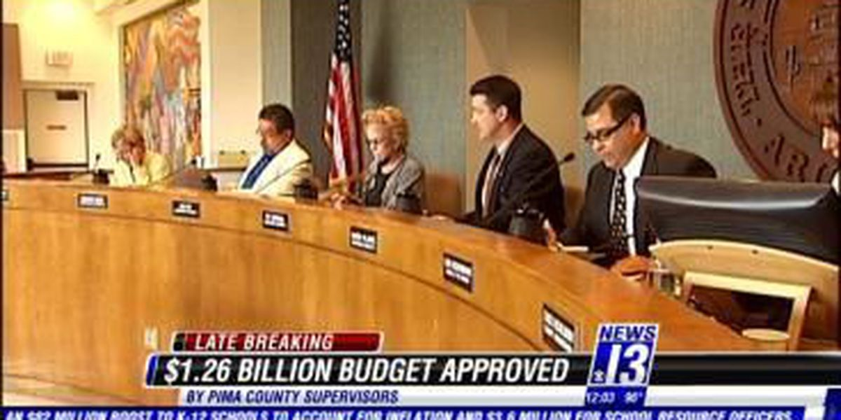 Supervisors approve county budget