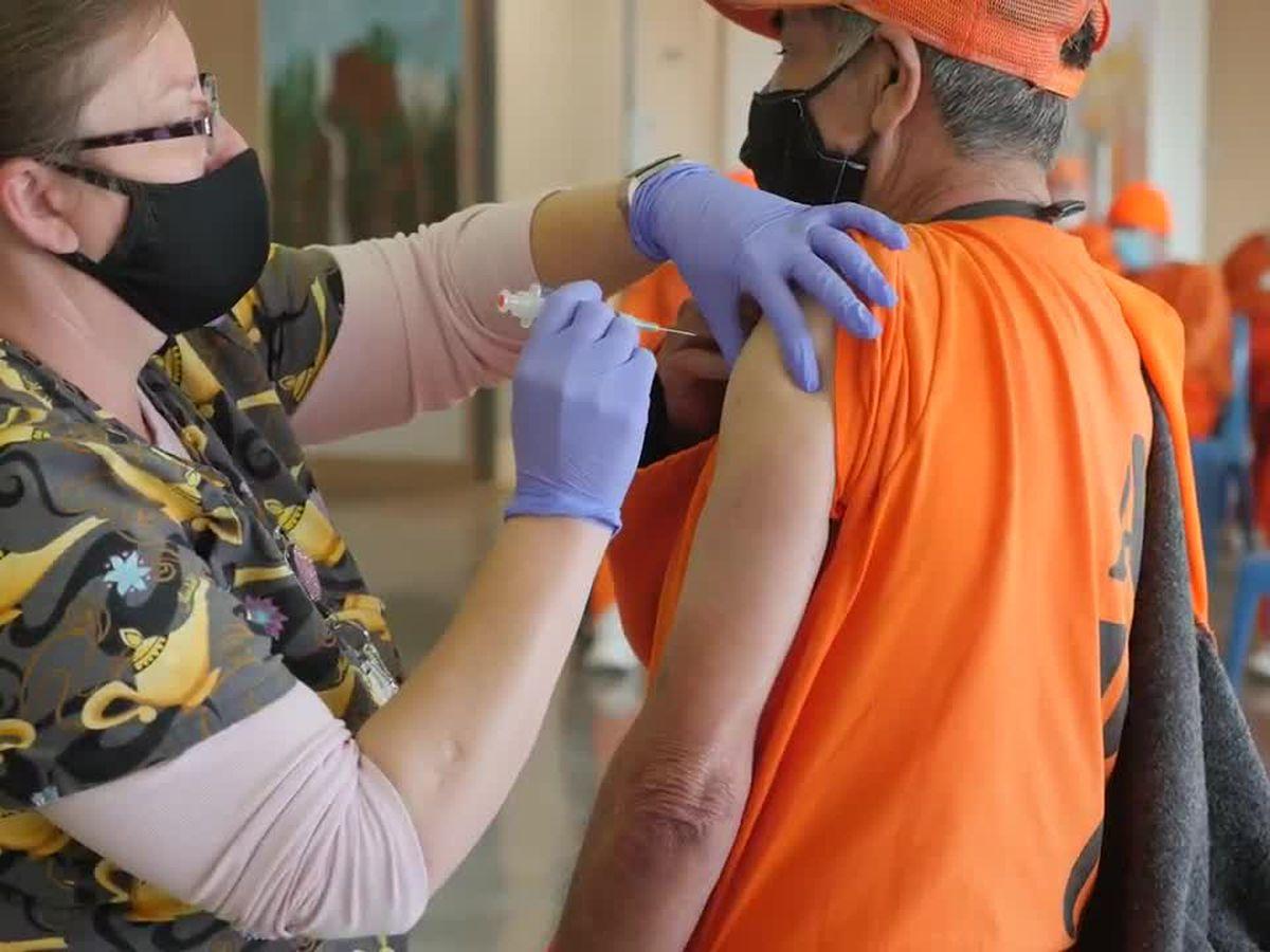 More than 12,000 vaccine doses adminstrered to inmates across Arizona