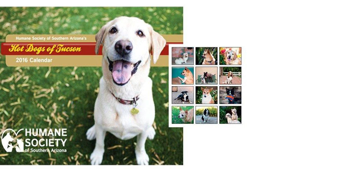 Local Canines Grace New Calendar